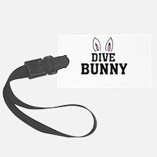 'Dive Bunny' Luggage Tag