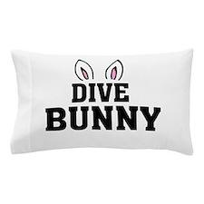 'Dive Bunny' Pillow Case