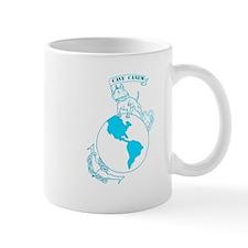 Pit Bull, Globe, and Anchor (Teal) Mug