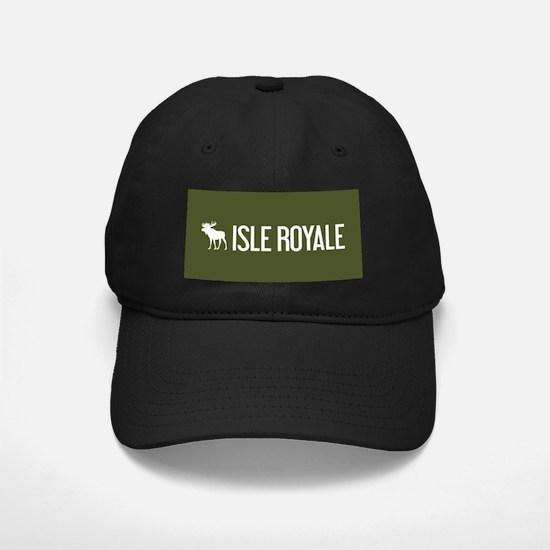Isle Royale Moose Baseball Hat