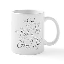 John 3:16 script Small Mug