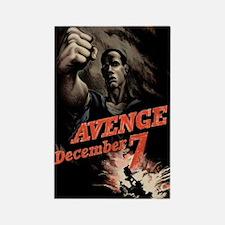 Avenge December 7! Rectangle Magnet