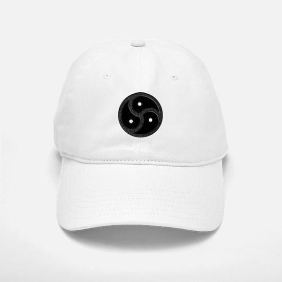 BDSM Emblem - Chrome Look Baseball Baseball Cap