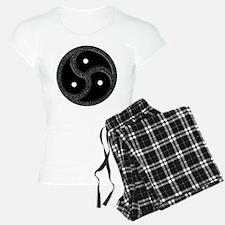 BDSM Emblem - Chrome Look Pajamas