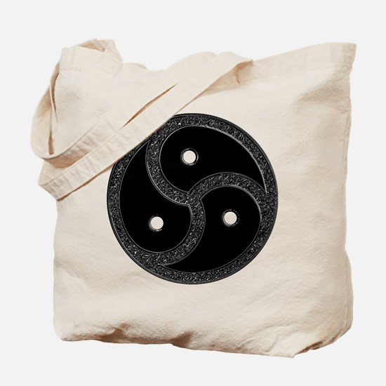 BDSM Emblem - Chrome Look Tote Bag