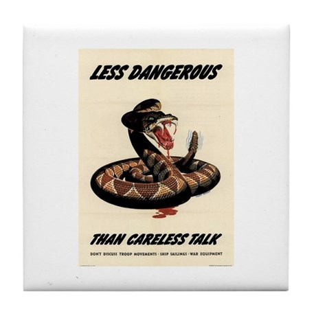 Less Dangerous Tile Coaster