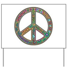 Peace Zentangle Yard Sign