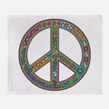 Peace Throw Blanket