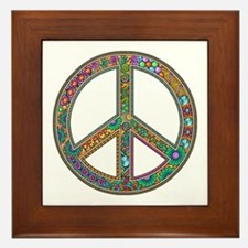 Peace Framed Tile