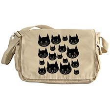 Black Cats. Messenger Bag