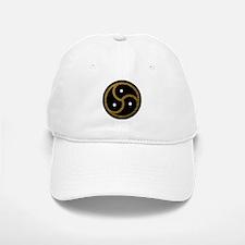 Gold Metal Look BDSM Emblem Baseball Baseball Cap