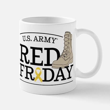 Army RED Friday Boot Mug