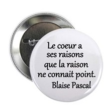 "Coeur Pascal 2.25"" Button"