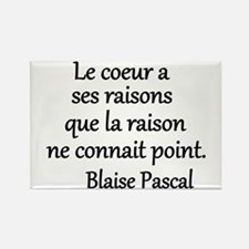 Coeur Pascal Rectangle Magnet