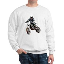 Playing in the dirt with a motorbike Sweatshirt