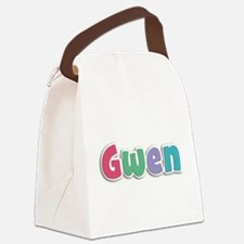 Gwen Spring11G Canvas Lunch Bag