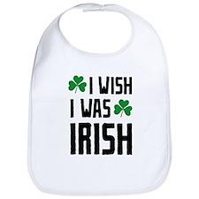 I Wish I Was Irish Bib