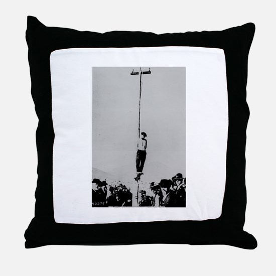 Hangman Throw Pillow