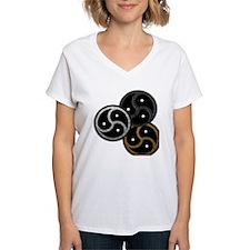 Tri-Colored BDSM Emblems Shirt