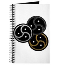 Tri-Colored BDSM Emblems Journal