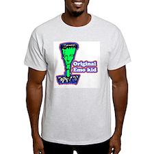 Original Emo Kid Ash Grey T-Shirt