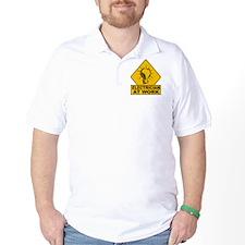 Electrician Bulb T-Shirt