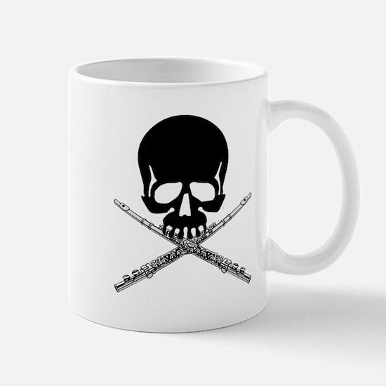 Skull with Flutes Mug