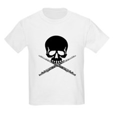 Skull with Flutes T-Shirt