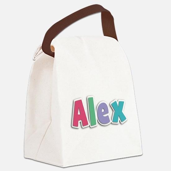 Alex Spring11G Canvas Lunch Bag