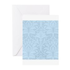 Blue Flourish Greeting Cards (Pk of 20)
