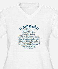 Namaste Plus Size T-Shirt