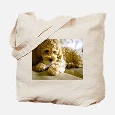 The Cockapoo Puppy Tote Bag