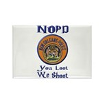 NOPD You Loot We Shoot Rectangle Magnet (100 pack)
