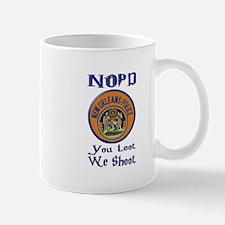 NOPD You Loot We Shoot Mug