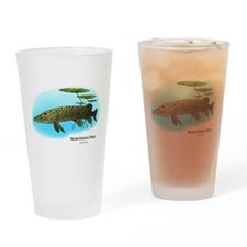 Northern Pike Drinking Glass