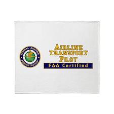 FAA_Logo_Color_ATP.tif Throw Blanket