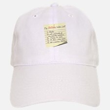 My Birthday Wish List Baseball Baseball Cap