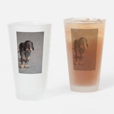 French Dog Drinking Glass
