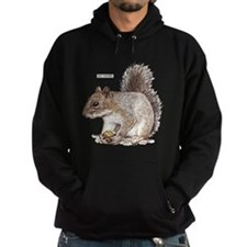 Gray Squirrel Animal Hoodie