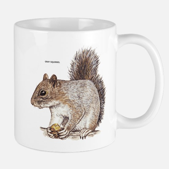 Gray Squirrel Animal Mug