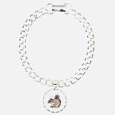 Gray Squirrel Animal Bracelet