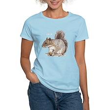 Gray Squirrel Animal T-Shirt