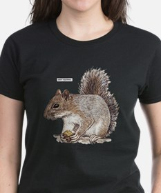 Gray Squirrel Animal Tee