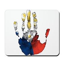 PINOY HAND Mousepad