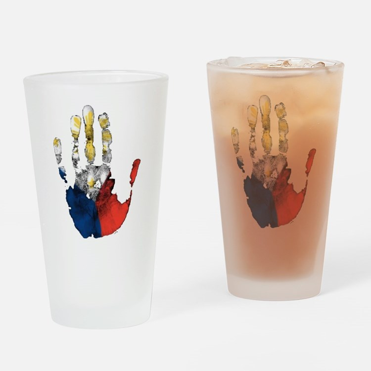 PINOY HAND Drinking Glass