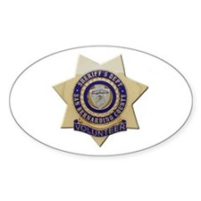 San Bernardino Volunteer Decal