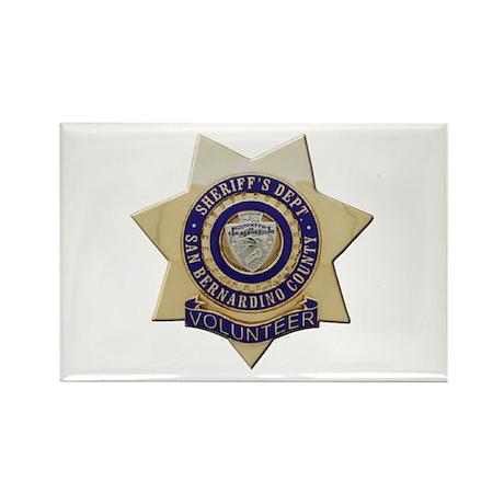 San Bernardino Volunteer Rectangle Magnet (10 pack