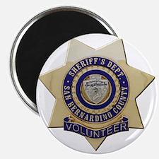 "San Bernardino Volunteer 2.25"" Magnet (100 pack)"