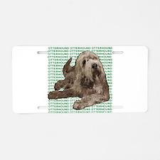 otterhound Aluminum License Plate