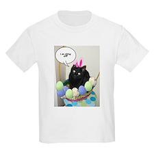 Happy Easter Black Cat T-Shirt